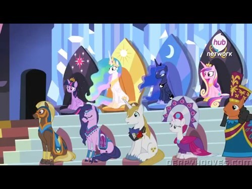 cutie mark,princess cadence,hub logo