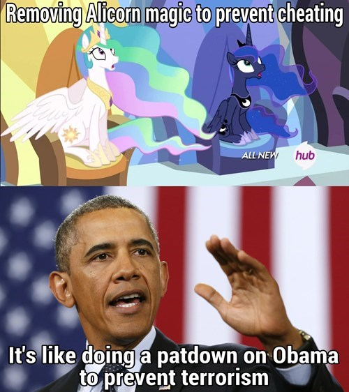 alicorn princess celestia princess luna obama - 8173077248