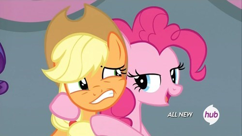 applejack show us on the doll where'd she touch you pinkie pie - 8173102592