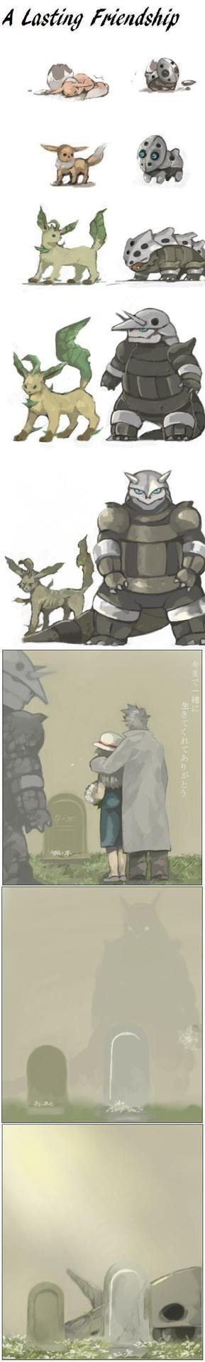 evolution Fan Art Pokémon Sad - 8173143040
