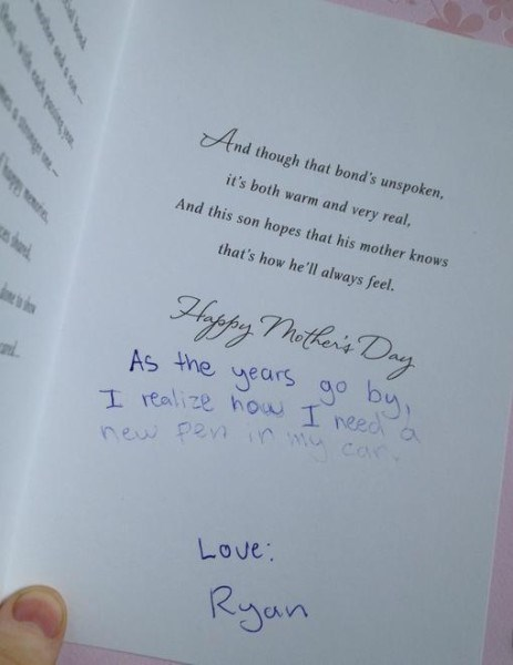 pens mothers day cards - 8173471488