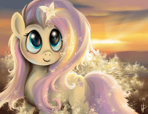 Fan Art fluttershy - 8173502464