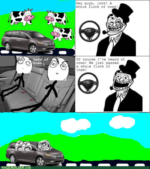 cows dad jokes rage trolldad - 8173568000