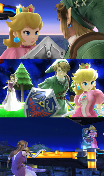 friend zone link super smash bros zelda - 8173919232