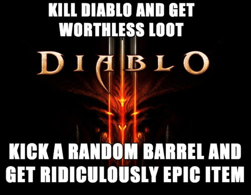 diablo III,video games,video game logic