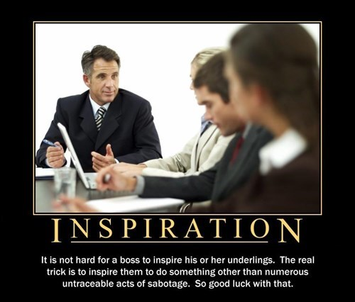 bosses work inspirational - 8173987840