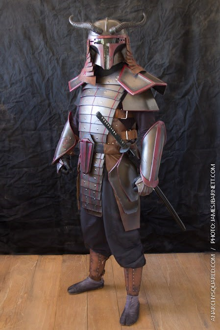 boba fett cosplay samurai - 8174352640