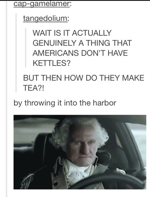 george washington,tea,tumblr