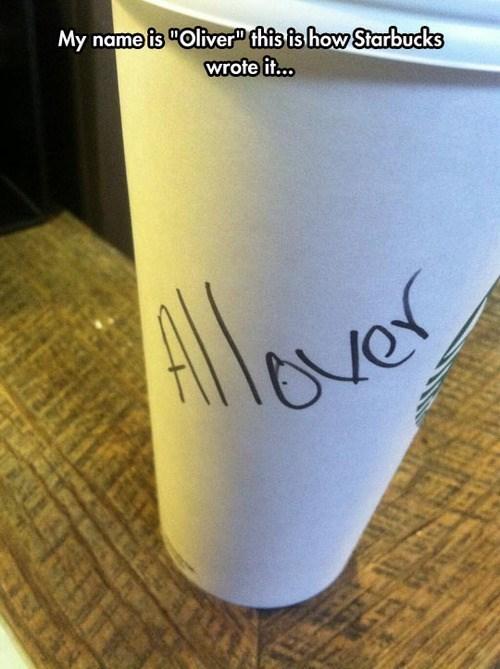 Starbucks oliver - 8174508288