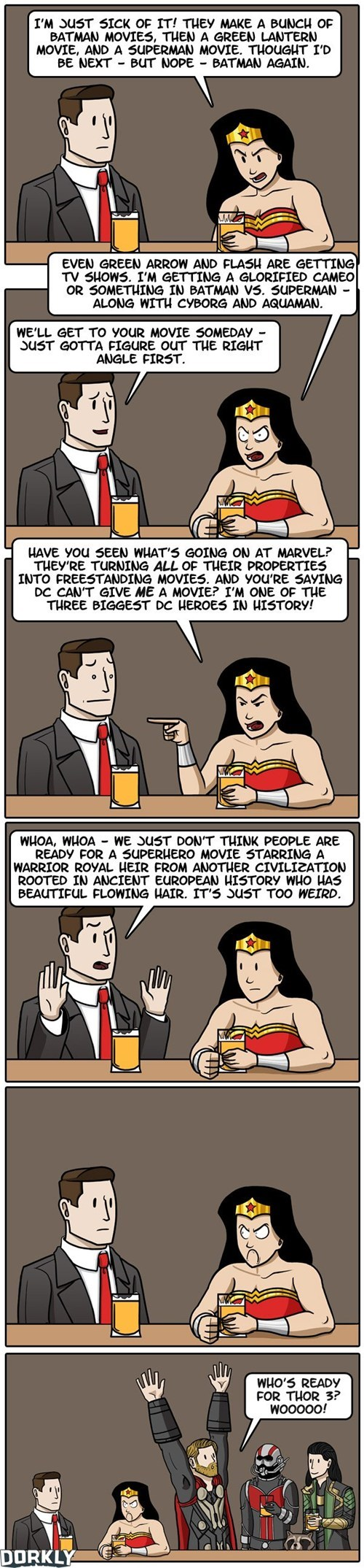 dorkly wonder woman web comics - 8174644224