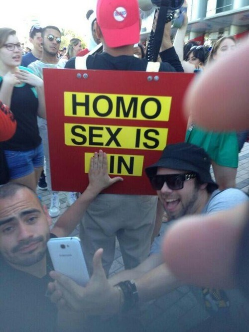 LGBT protests - 8174651392