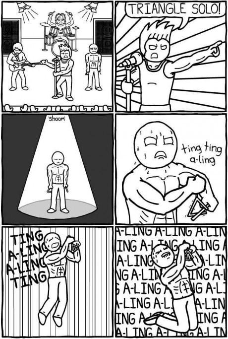 epic Music triangles solo web comics - 8174787840