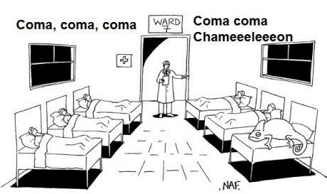 culture club coma boy george puns web comics