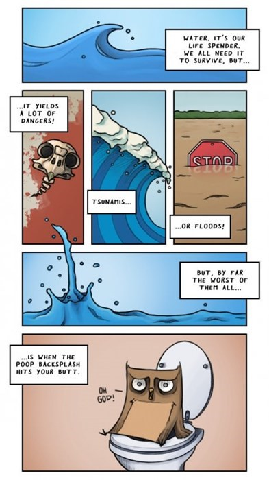 waves toilets web comics - 8174833920