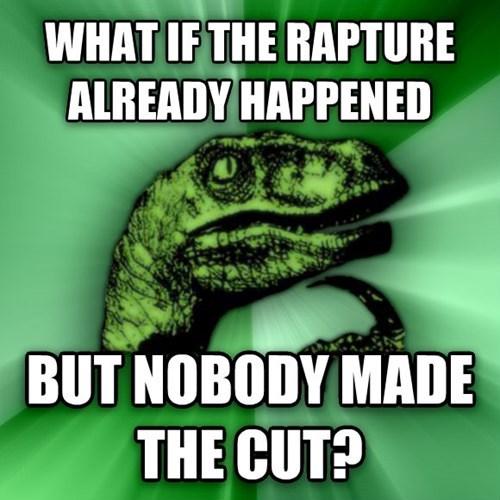 philosoraptor the rapture - 8174914304