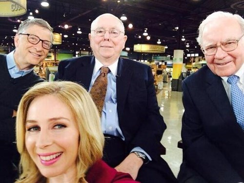 Bill Gates,Photo,pics,warren buffett,selfie,charlie munger