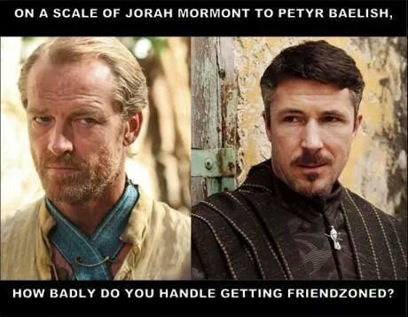 Game of Thrones,Littlefinger,jorah mormont,season 4,petyr baelish