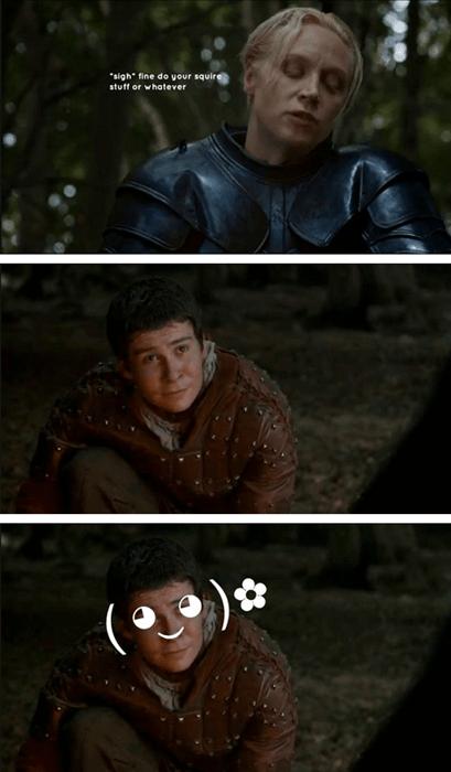 Game of Thrones season 4 brienne of tarth podrick - 8174970112