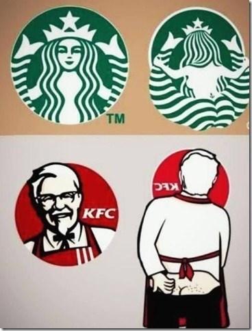 logos kfc Starbucks - 8175010048