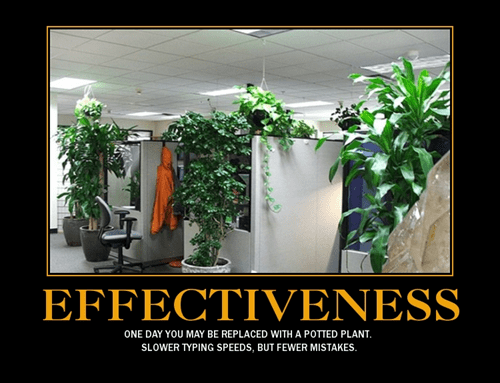 plants work effectiveness