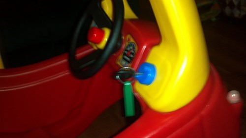 kids,keys,parenting,toys,cozy coupe