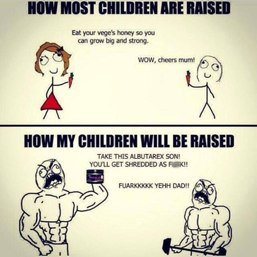 working out,parenting