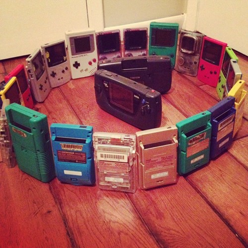 game boy,game gear