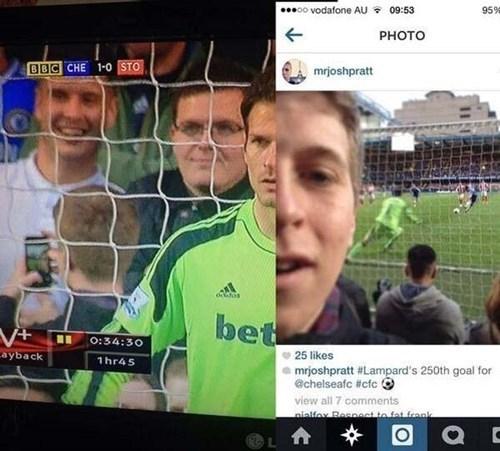 instagram soccer selfie - 8175156992