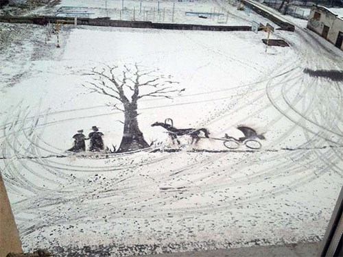 snow only in russia - 8175157760