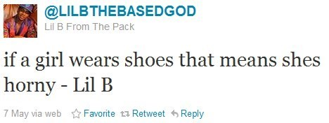 lil b,shoes,wisdom,twitter