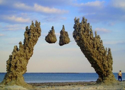 beach design sand castle - 8175179776
