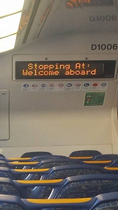 train sign you had one job - 8175182080