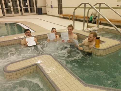 studying school good idea hot tub brilliant - 8175190272