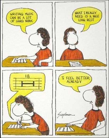 Music puns rest web comics - 8175763200