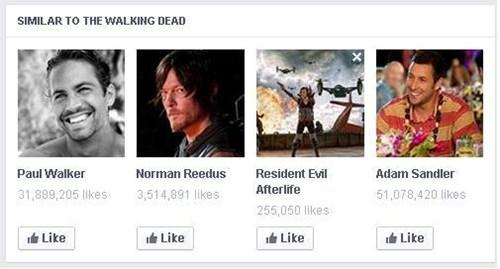 paul walker suggestion too soon The Walking Dead - 8175816448