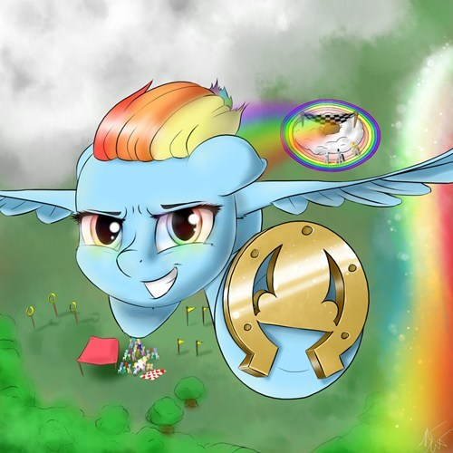 Fan Art,rainbow dash