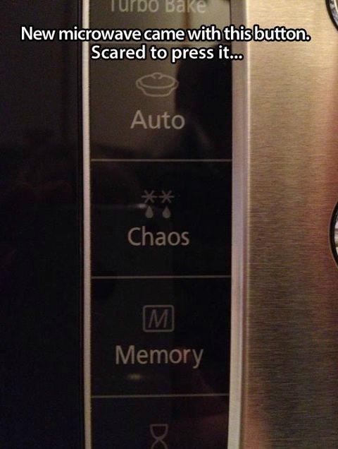 chaos,microwaves