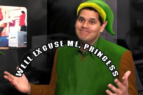 well excuse me princess reggie fils-aime zelda - 8176052224