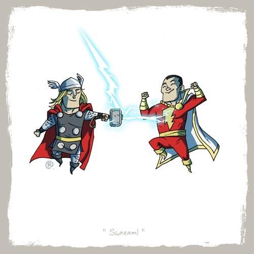 Cartoon - Shazam!