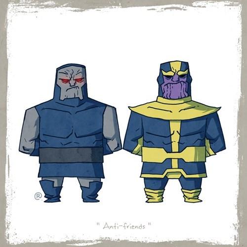Cartoon - Anti-friends