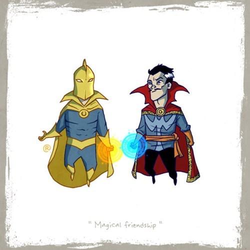 """Cartoon - Magical friendship"""""""