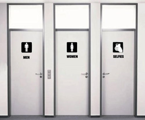 bathrooms selfie restrooms - 8176128512