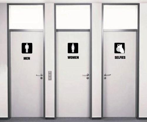bathrooms selfie restrooms - 8176128512
