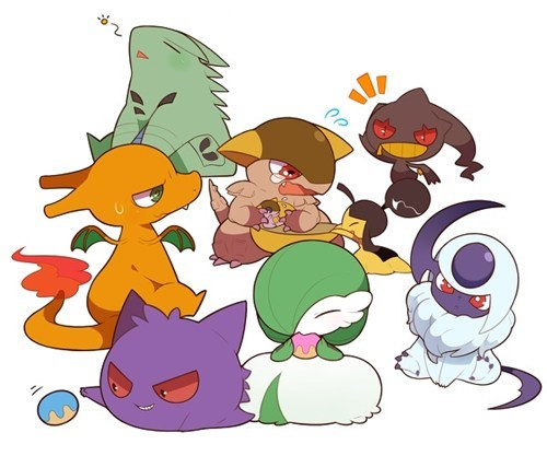 cute,mega,Fan Art,Pokémon