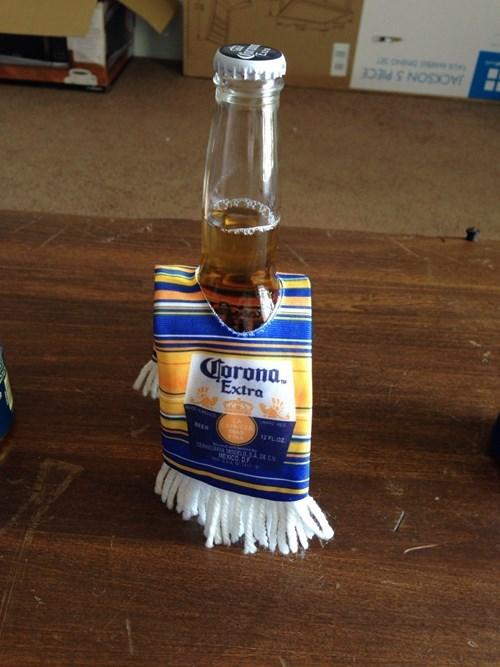 beer,aweosme,corona,funny,poncho