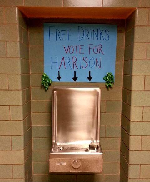 elections politics school vote for harrison - 8176158720