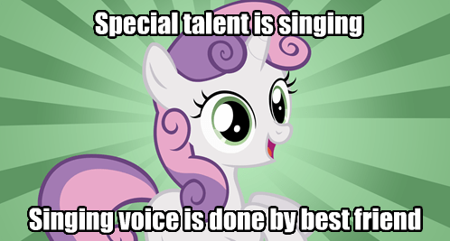 bad luck Sweetie Belle ponify the memes - 8176168704