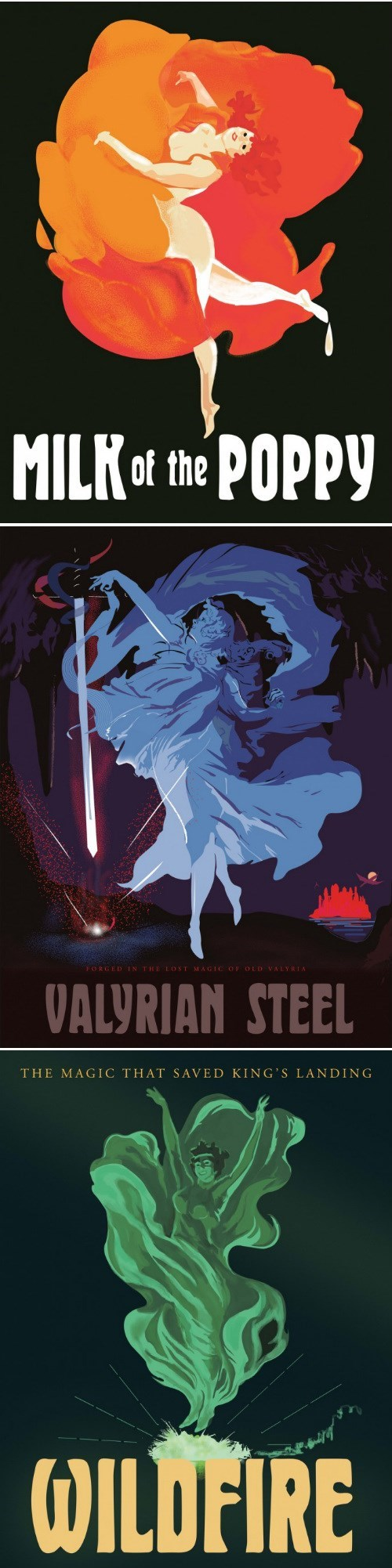 cabaret Game of Thrones posters - 8176282624