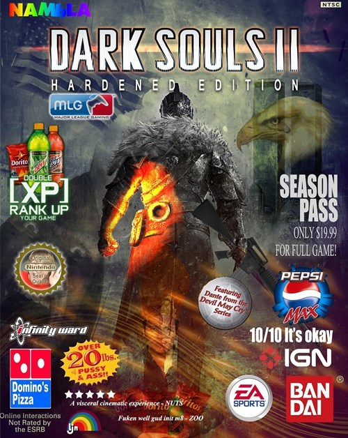 video games dark souls II - 8176337152