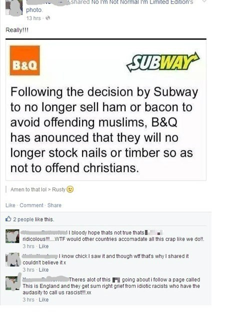 thats-racist hoax Subway - 8176916736